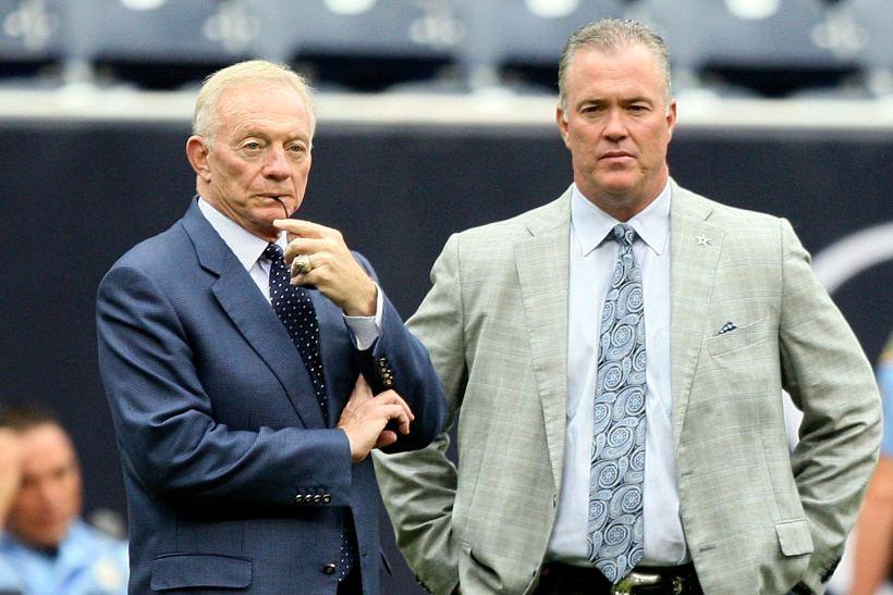 Jerry Jones and Stephen Jones