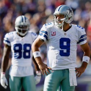 Cowboys Headlines - Tony Romo Career Start Percentage Compared To Other NFL QBs 2
