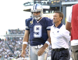 Cowboys Headlines - Tony Romo Career Start Percentage Compared To Other NFL QBs 3