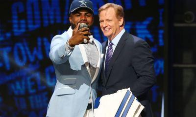 Cowboys Headlines - PHOTO: Ezekiel Elliott In Full Cowboys Uniform For First Time