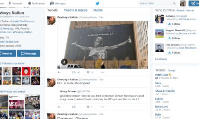 Cowboys Headlines - Tweet Break: Best of #Cowboys Twitter for June 3rd
