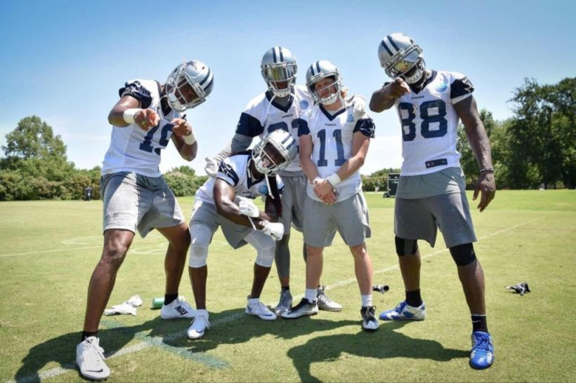 Cowboys wide receivers