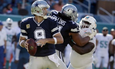 Cowboys Headlines - Cowboys Roll Dolphins in Romo's Return, Dak Prescott Accounts for 4 TDs