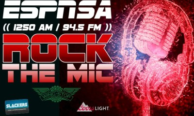 The Star News - Event: ESPN's Rock The Mic Broadcast At Slackers Sports Bar In San Antonio, Friday Aug 5 From 4-7 PM
