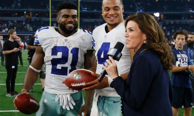 Cowboys Headlines - Panini Unveiling Ezekiel Elliott And Dak Prescott Rookie Cards