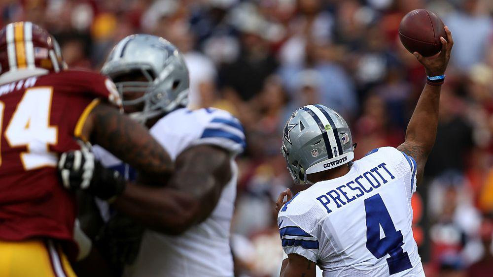 Cowboys Headlines - Romo Got Dak: QB Situation a Good Problem to Have