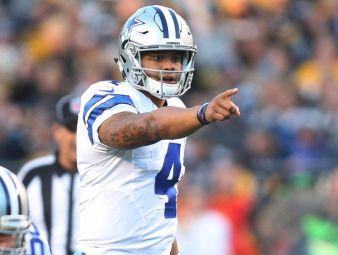Cowboys Headlines - Hacksaw Smithers AKA Terrell Suggs Interviews Dak Prescott