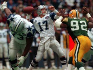 Jason Garrett, Packers