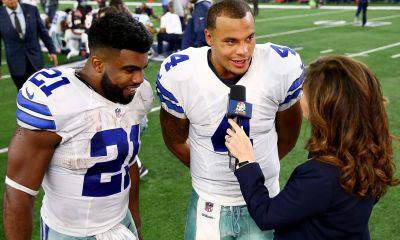 Cowboys Headlines - What Can't They Do? Ezekiel Elliott And Dak Prescott Lead Pro Bowl Voting