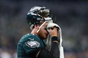 Carson Wentz, Eagles