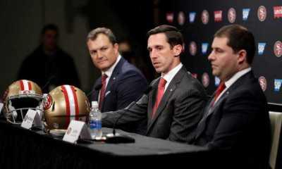 Kyle Shanahan, John Lynch, 49ers