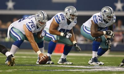 Travis Frederick, Ronald Leary, Tyron Smith, Offensive Line