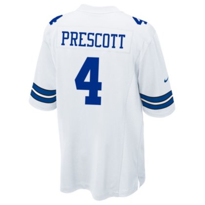 Dak Prescott Nike Game Jersey - White 1
