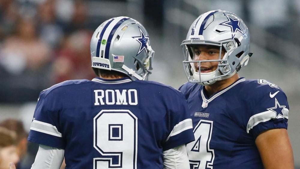 Tony Romo, Dak Prescott