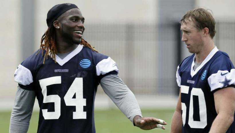 Sean Lee and Jaylon Smith