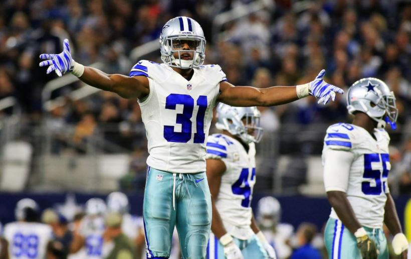 Cowboys FS Byron Jones Works With Frisco RoughRiders To Improve Hands