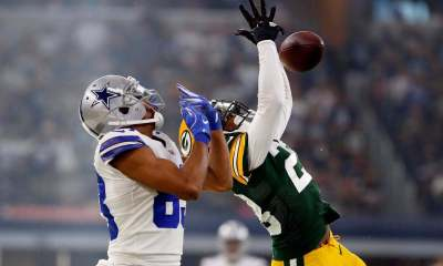 Turning Point: Terrance Williams' Miscue Spurs Packers Win