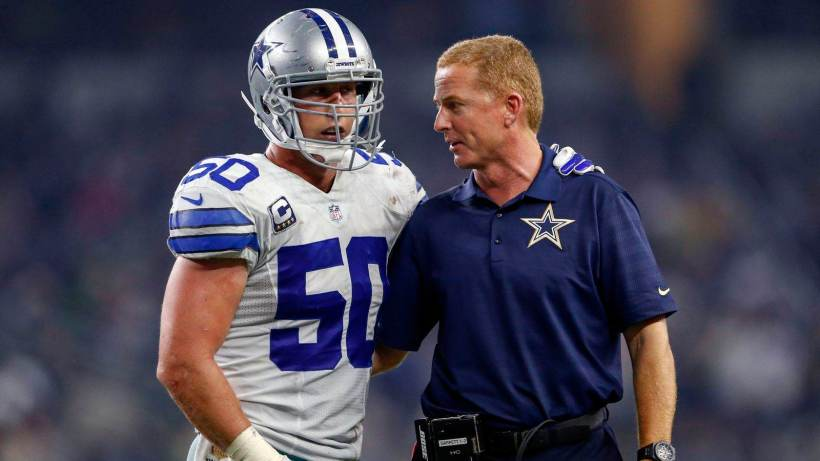 Sean Lee and Jason Garrett