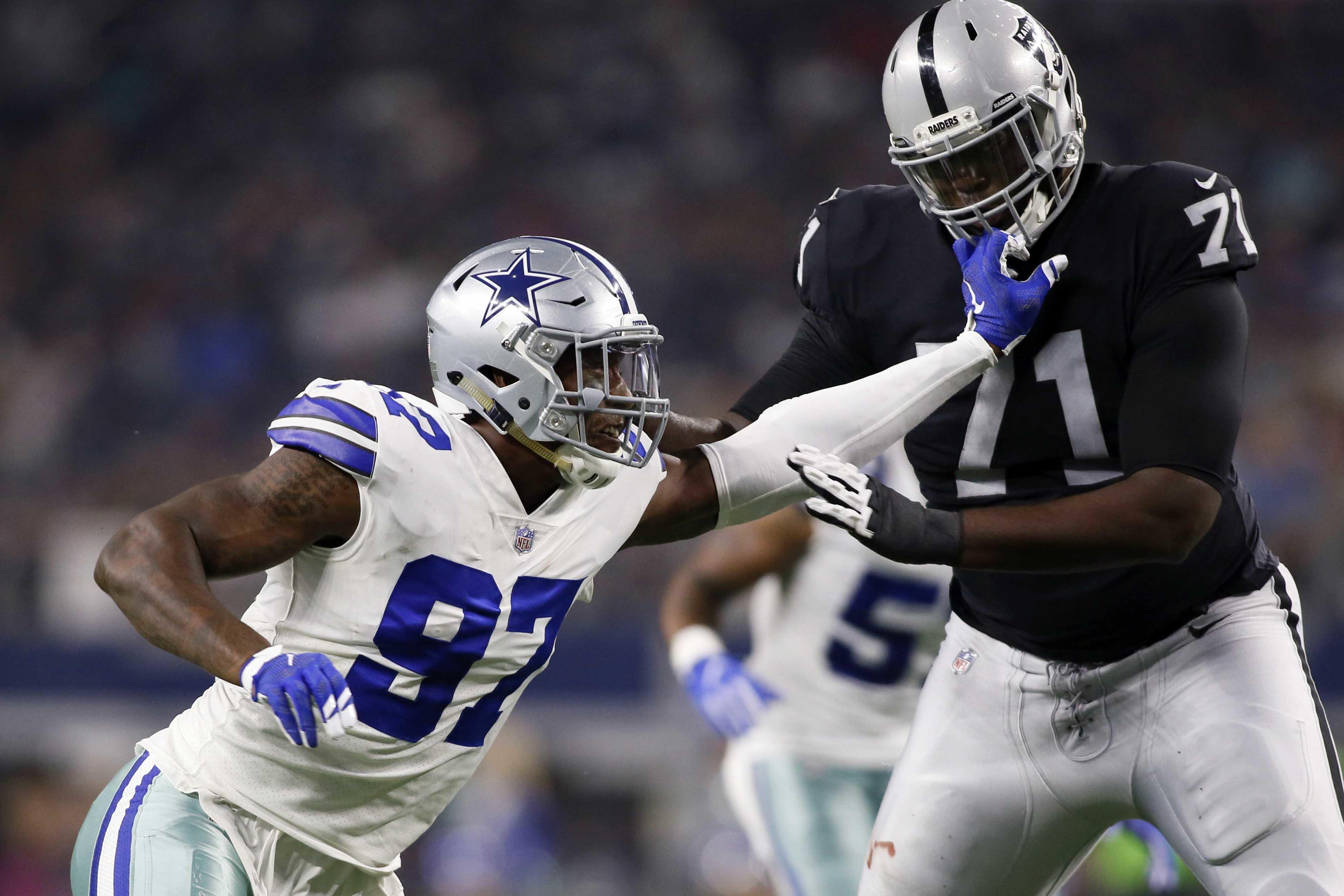 Cowboys Extend Randy Gregory Into 2020