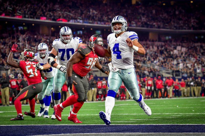 "Dak Prescott Weighs in on Cowboys ""Dak-Friendly"" Offense Approach"