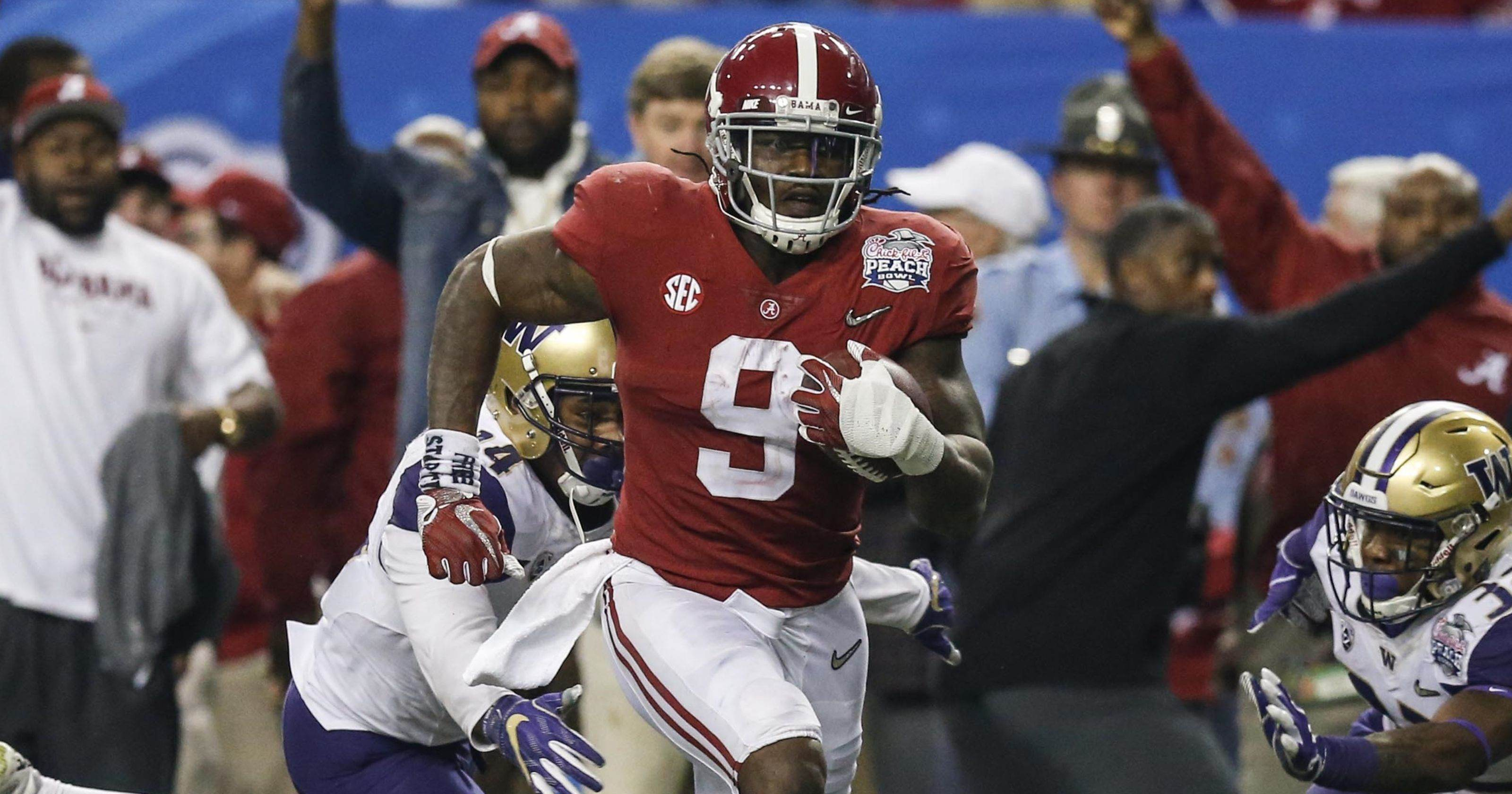 Cowboys Draft RB Bo Scarbrough with the ...