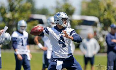 Reviewing Notes from Dallas Cowboys Day Two of OTA's