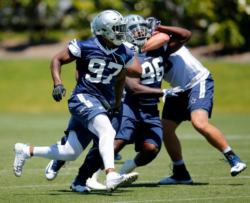 Despite Late Push as Rookie, Will Taco Charlton Struggle to See Field in 2018?