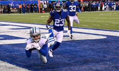 Cole Beasley's Aerobatic Catches Against Giants Nothing New
