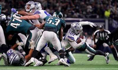 Ezekiel Elliott has Huge Day vs Eagles Thanks to Receiving Prowess