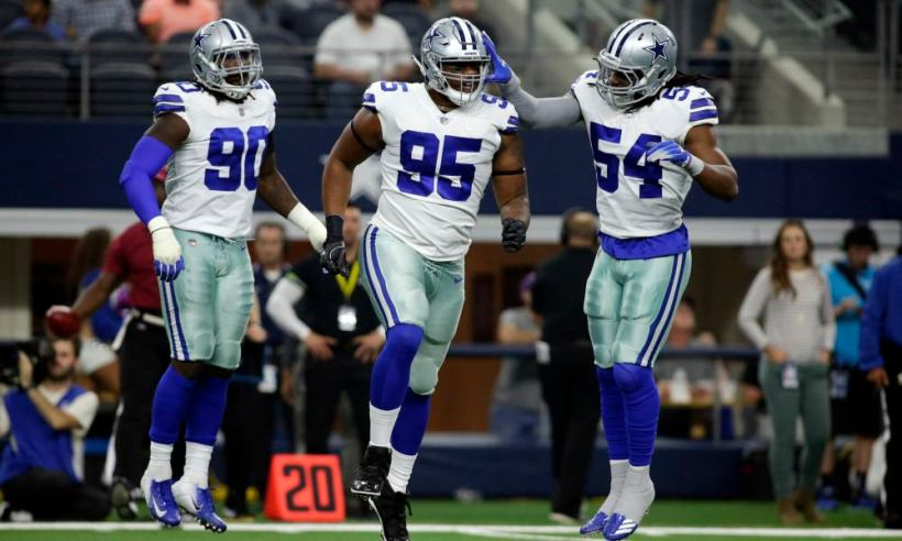 David Irving, Jaylon Smith, DeMarcus Lawrence