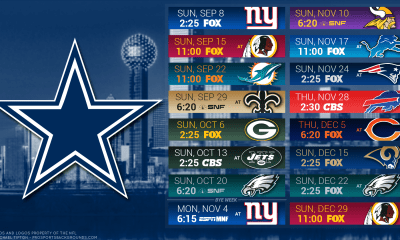 Dallas Cowboys 2019 Schedule: Way-too-Early Win/Loss Predictions