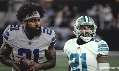 2020 RB Options for Cowboys if Things Turn Ugly With Ezekiel Elliott