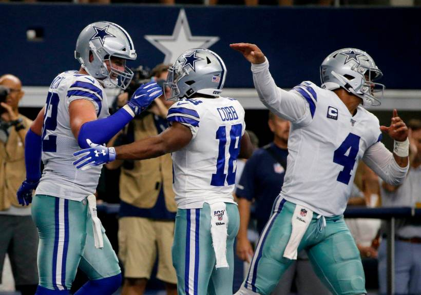 Randall Cobb Lives Up to the Hype in Dallas Cowboys Debut