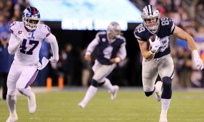 Cowboys TE Blake Jarwin Owns the New York Giants, Again