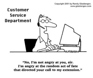 customer cartoon