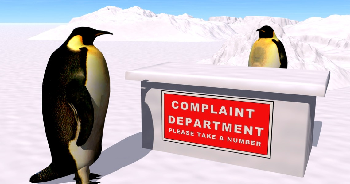 complaints penguin