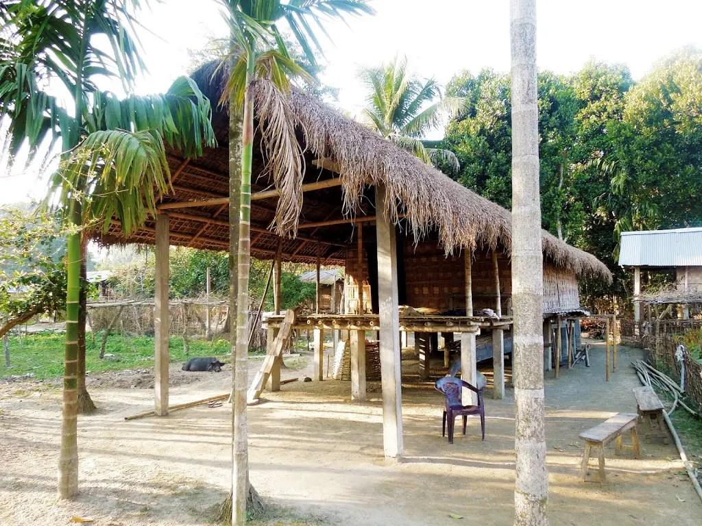 Mishing Hut Majuli