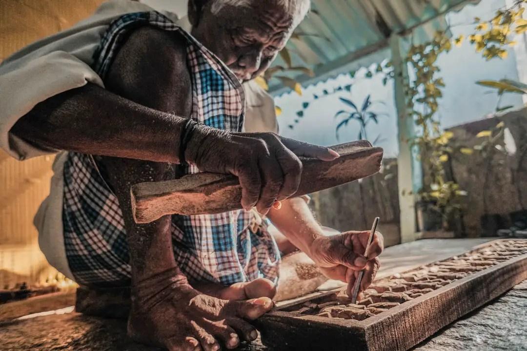 Lost in Art, Nature and Life in Madhavamala: Village near Tirupathi