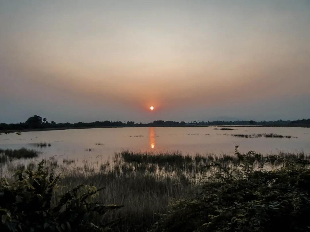 Sunset Spot Madhavamala Grassroutes Andhra