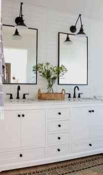 01 Modern Farmhouse Master Bathroom Remodel Ideas