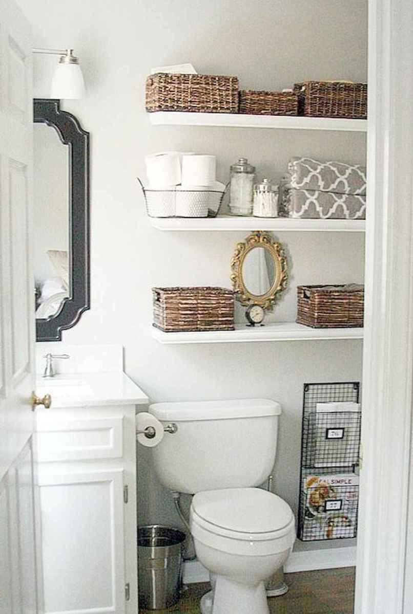 01 Smart Small Bathroom Storage Organization and Tips Ideas
