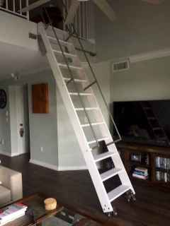 02 Clever Loft Stair Design for Tiny House Ideas