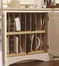 03 Brilliant Kitchen Cabinet Organization and Tips Ideas