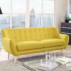 04 Beautiful Yellow Sofa for Living Room Decor Ideas