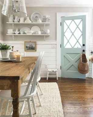 06 Beautiful Farmhouse Dining Room Table Design Ideas