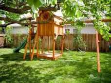 06 Exciting Small Backyard Playground Kids Design Ideas