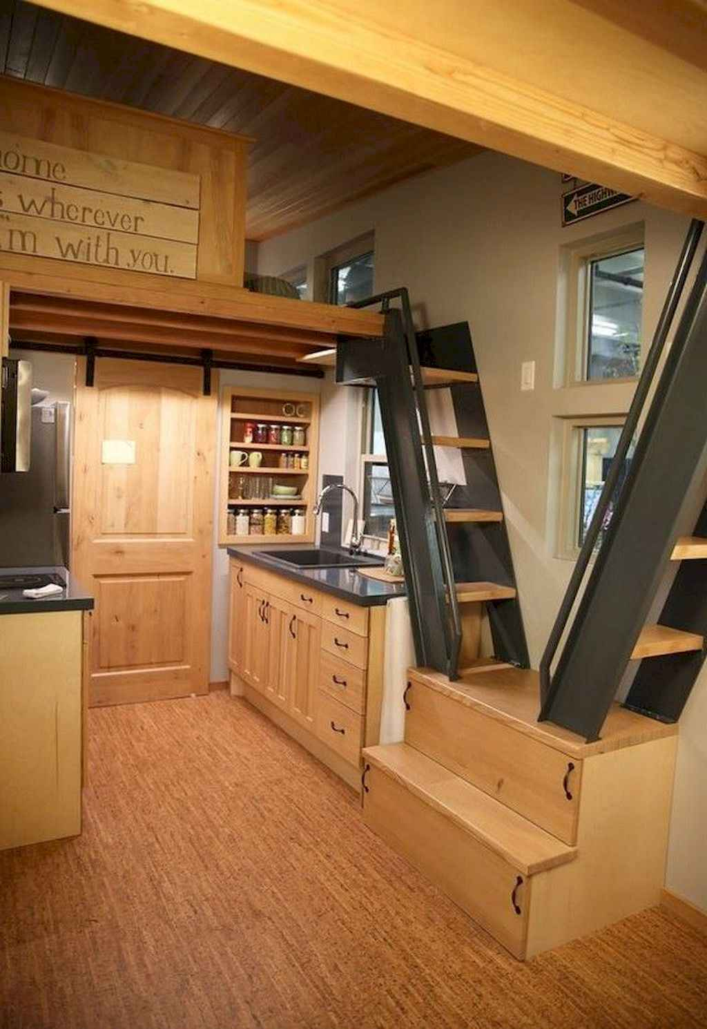 08 Tiny House Kitchen Storage Organization and Tips Ideas