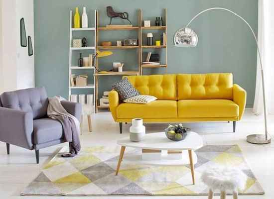 14 Beautiful Yellow Sofa for Living Room Decor Ideas