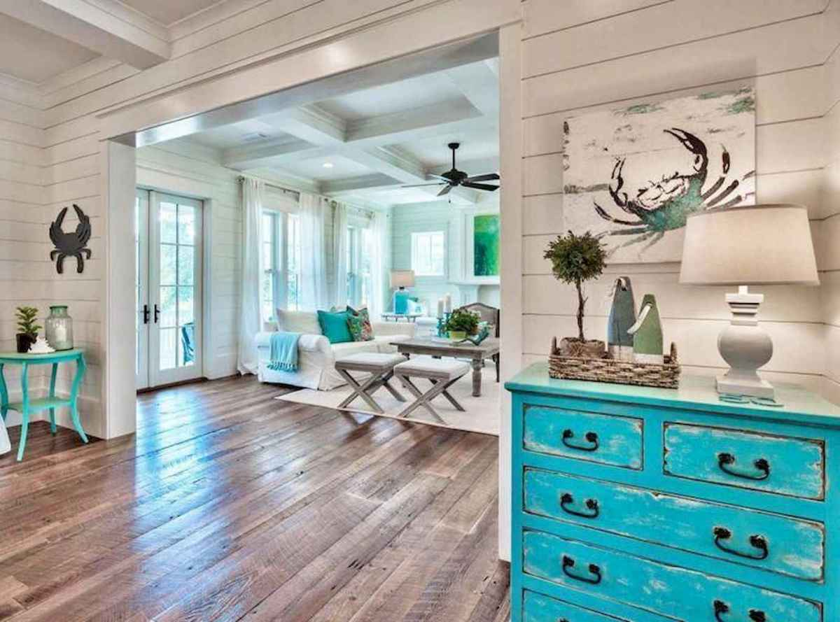 18 Beautiful Coastal Living Room Decor Ideas