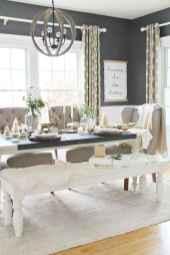 19 Beautiful Farmhouse Dining Room Table Design Ideas